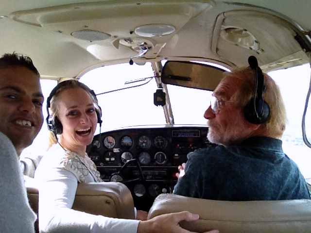 I got to fly a plane!
