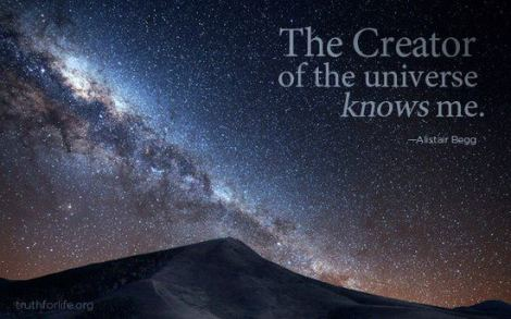 The Creator is my friend.