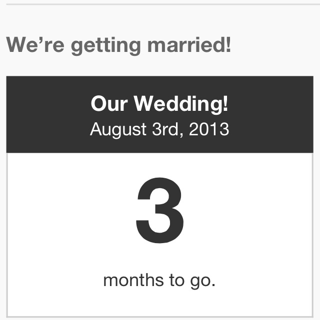 3 months to go